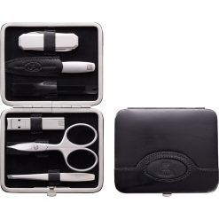 Zwilling 98472-004 Manicure Frame case, neat's leather, with pocket knife and tooth pick, 6 pcs.