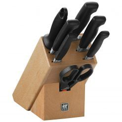 Zwilling 35140-000 Knife block, natural wood, 8 pcs.