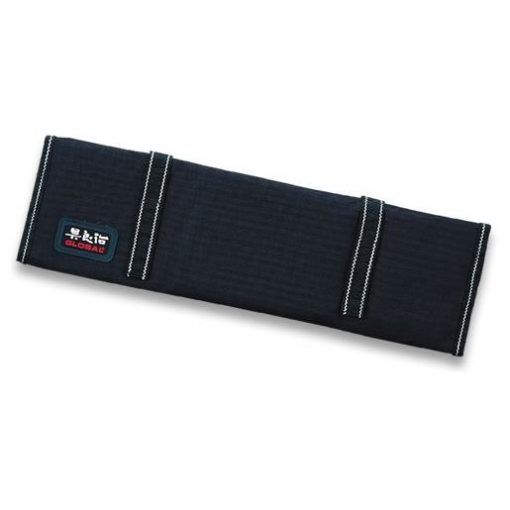 Global G-666/09 Knife roll with Velcro straps for 9 knives