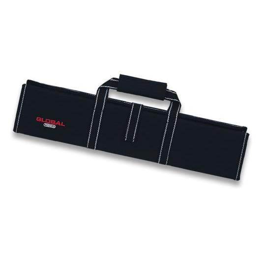 Global G-667/11 Knife case with zipper and velcro straps for 12 knives